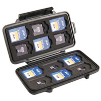 pelican hard camera memory sd card case l